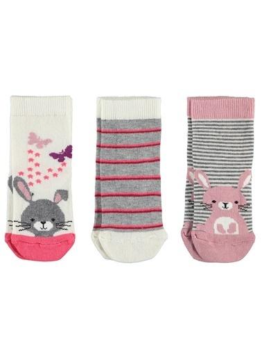 Civil Baby 3'lü Çorap Ekru
